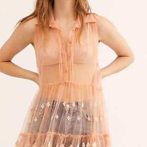 """Sexy FREE PEOPLE """" One Hearts Fly Slip"""""""